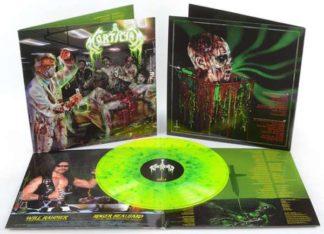 """Re-Animated Dead Flesh 12"""" Gatefold LP on Yellow Splatter Vinyl w/ Poster"""