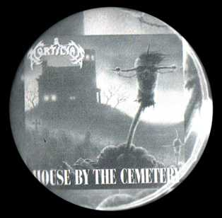 "House by the Cemetery 1.5"" Pin"