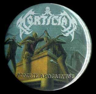 """Zombie Apocalypse 1.5"""" Pin"""