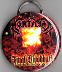 "Final Bloodbath 2.5"" Bottle Cap Opener Keychain"