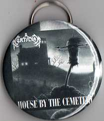 "House by the Cemetery 2.5"" Bottle Cap Opener"