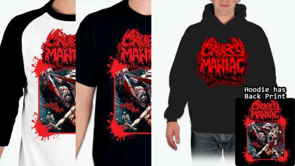 New Cropsy Maniac T-Shirt Design License