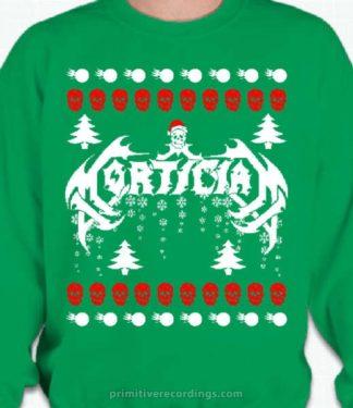 Bad Christmas Sweatshirt Mortician 2653
