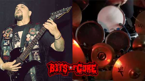 Roger Beaujard working with Phil Cancilla on Bits Of Gore Recording