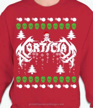 Bad Christmas Sweatshirt in Red