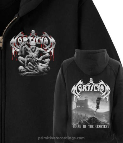 House By The Cemetery Zipper Hoodie