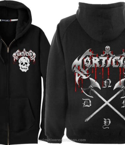 Skull with NYDM Back Zipper Hoodie