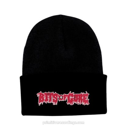 Bits of Gore Logo Embroidered Hat or Beanie - Knit Beanie with Cuff