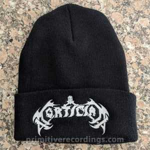 Mortician Logo Embroidered Hat or Beanie