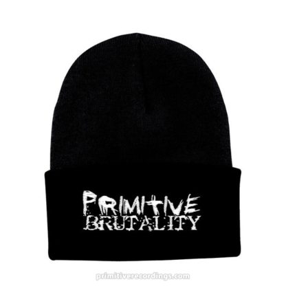Primitive Brutality Logo Embroidered Hat or Beanie