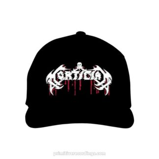 Mortician Blood Logo Embroidered Hat or Beanie