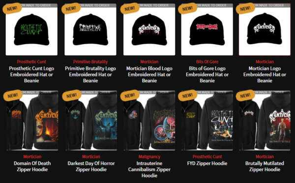 New Payment Options, Zipper Hoodies, Embroidered Hats, Beanies and More!