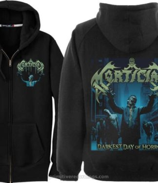 Darkest Day Of Horror Zipper Hoodie