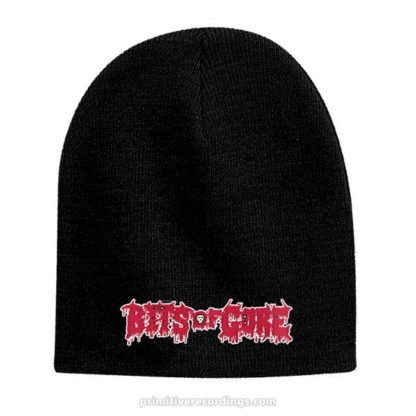 Bits of Gore Logo Embroidered Hat or Beanie - Knit Skull Cap