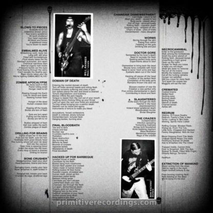 """Final Bloodbath Session (12"""" LP)(Red/Orange Marbled or Black Vinyl)"""