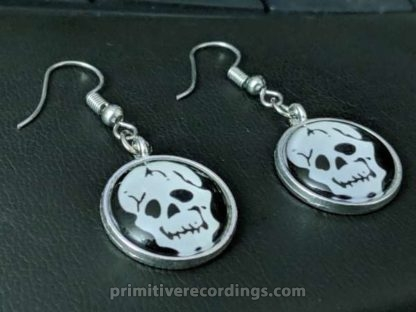 """Limited Edition Mortician """"Skull"""" Earrings"""