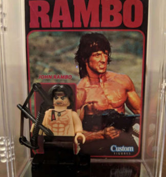 Custom Rambo Minifigure