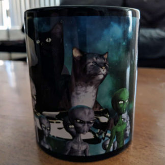 Alien Cat Lords Mug