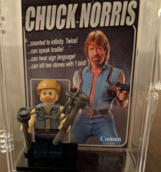 Custom Chuck Norris Minifigure
