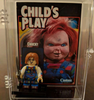 Custom Chucky Minifigure