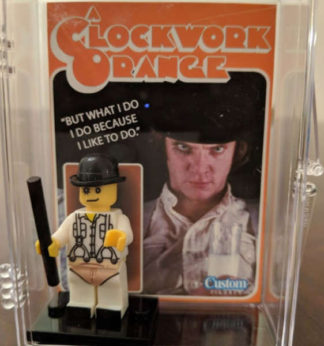 Custom Alex A Clockwork Orange Minifigure