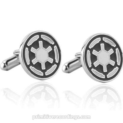 Galactic Empire Imperial Symbol Cuff-Links