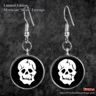 "Limited Edition Mortician ""Skull"" Earrings"