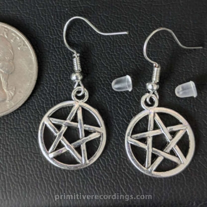 Pentagram Earrings Pair