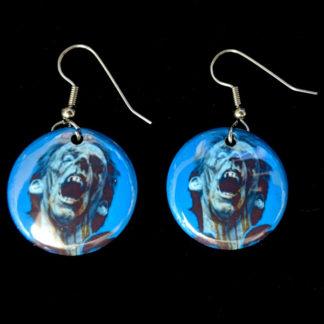 Darkest Day of Horror 1 Inch Earrings