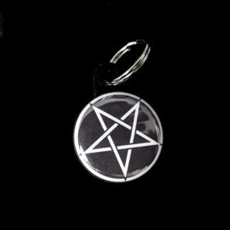 Pentagram 1 Inch Keychain