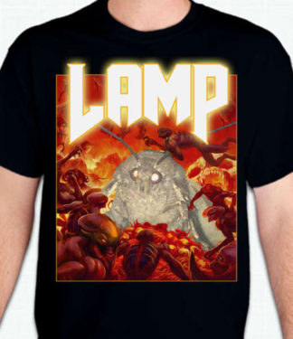 Moth Lamp Shirt Doom Parody