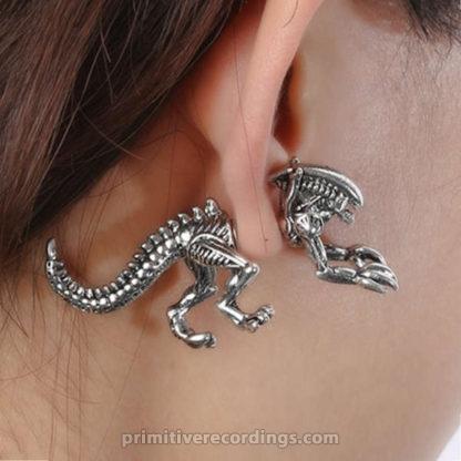 Single Alien Earring