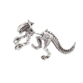Single Alien Earring - Silver