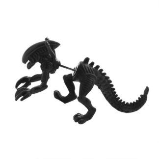 Single Alien Earring - Black