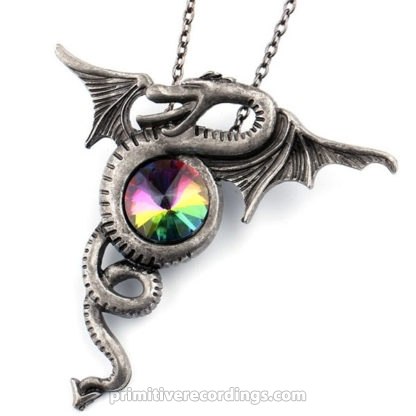 Flying Dragon with Jewel Necklace
