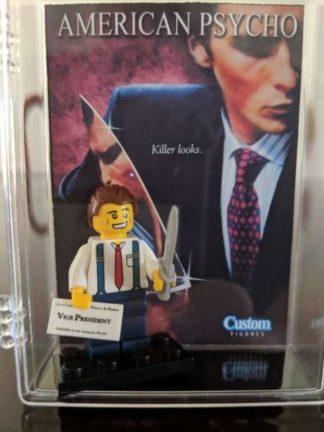 Custom American Psycho Minifigure