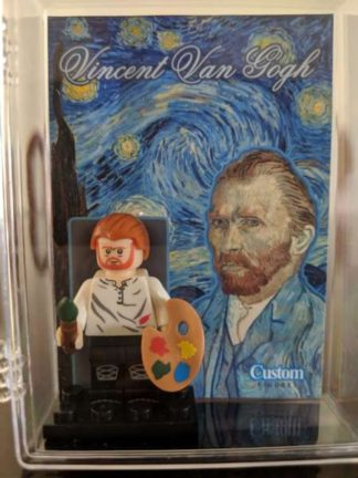 Custom Vincent Van Gogh Minifigure