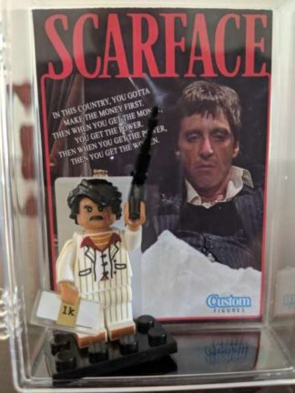 Custom Scarface Minifigure