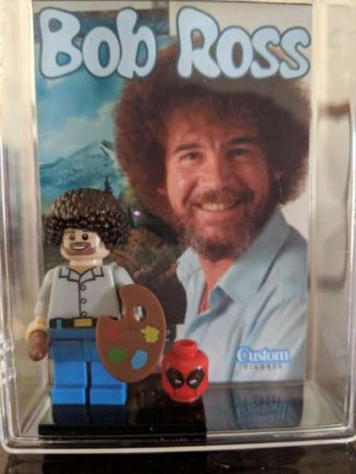 Custom Bob Ross Minifigure