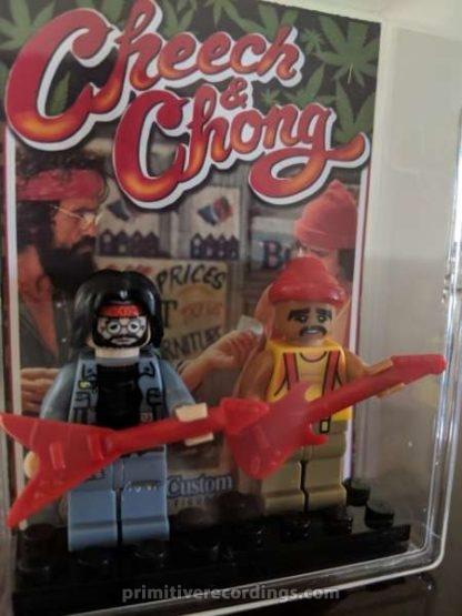 Custom Cheech and Chong Deluxe Minifigure Set