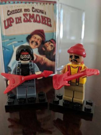 Custom Cheech and Chong Deluxe Minifigure Set