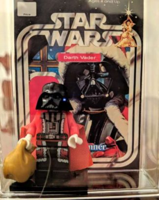 Custom Darth Vader Santa Minifigure
