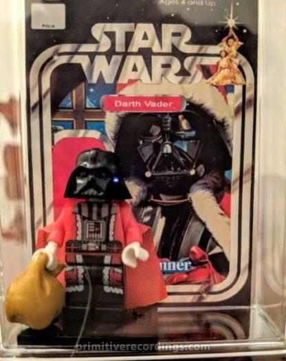 Custom Darth Vader Santa Minifigure