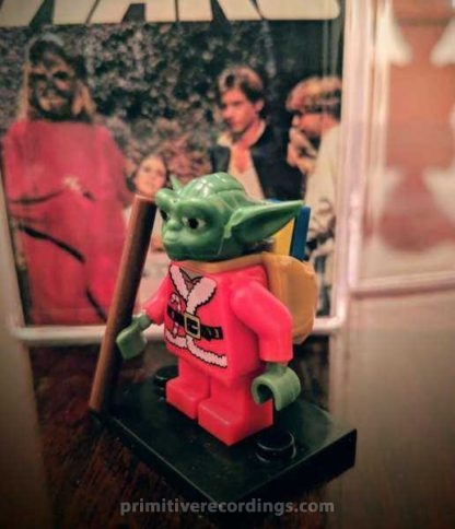 Custom Yoda Santa Minifigure