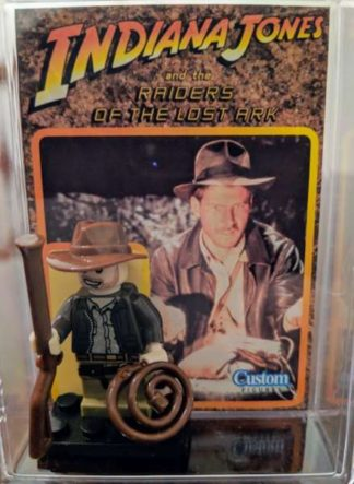 Custom Indiana Jones Minifigure