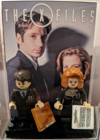 Custom X-Files Minifigure Set