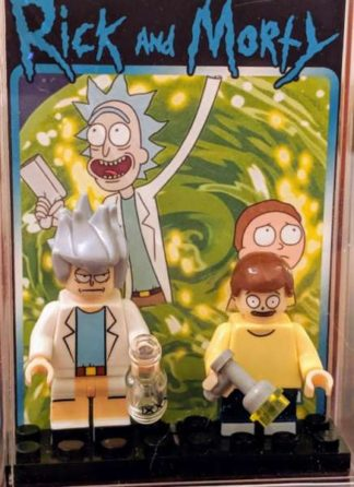 Custom Deluxe Rick and Morty Minifigure Set